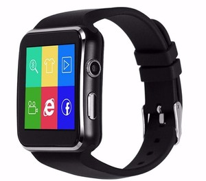 Touch screen gsm android smart watch, android smartwatch, phone calling support android watch