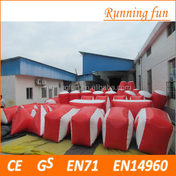 Best price inflatable bunkers paintball for rental