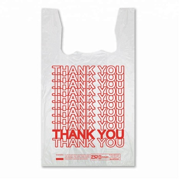 China Plastic Bag Manufacturer Customized Online Thank You T Shirt Ping Bags 1000 Price