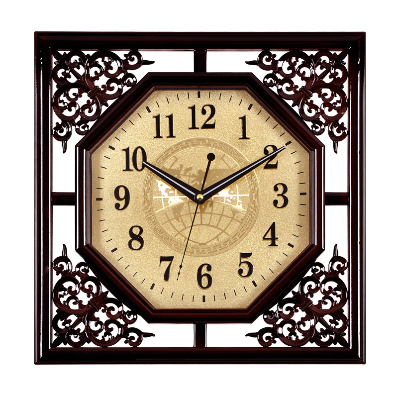 Chinese-classical-decorative-square-living-room-wall-clock