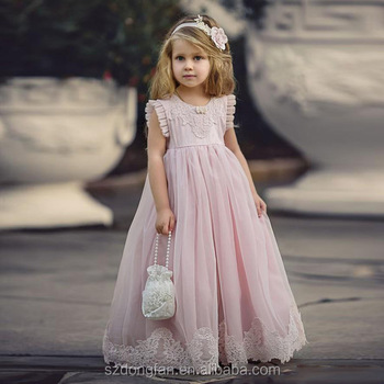 52584f288a6 Lovely Flower Girl Dresses Special Occasion Wedding Gown A-Line First Communion  Dresses