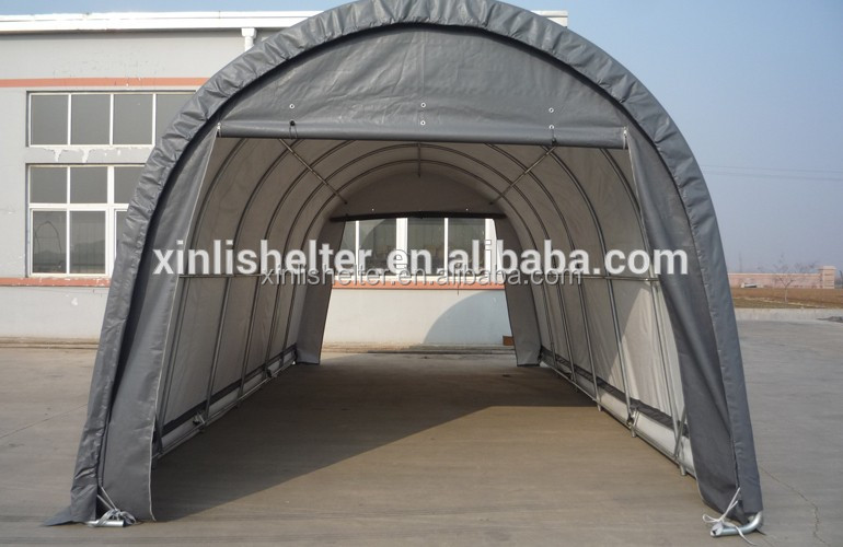 Insulated Portable Garage : R uv resistance fabric cover snow shelter canopy