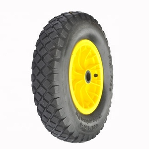 Manufacturer PU Foam Solid 4008 Wheelbarrow Tire