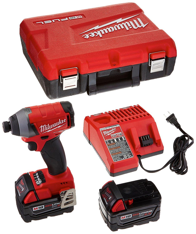 Milwaukee Electric Tool 2653-22 M18 18V Impact Drive Kit