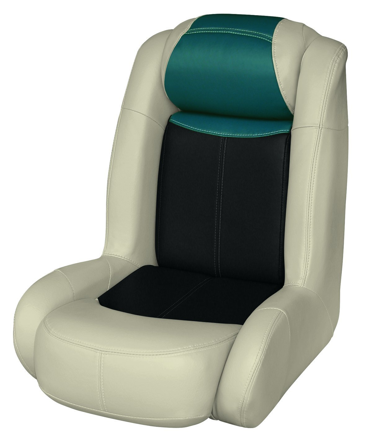 Wise 8WD1452-1724 Blast-Off Tour Series Fish-N-Ski High Back Bucket Seat, (Mushroom/Black/Green)