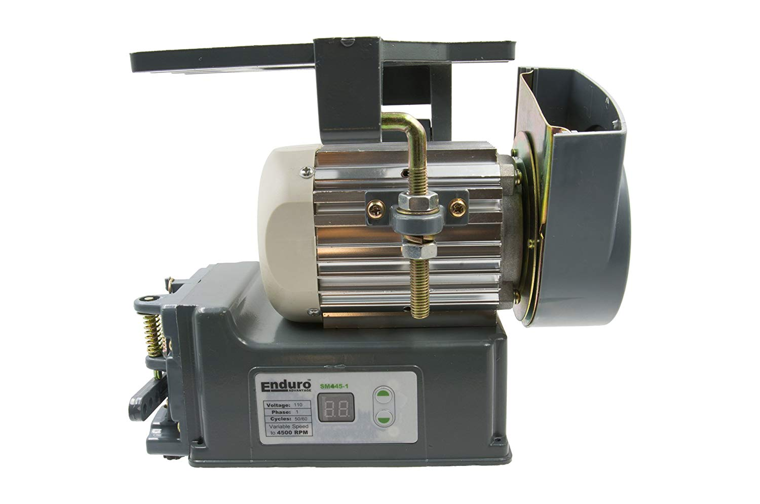 Axis Sewing Machine Energy Saving Servo Motor Slow Variable Speed from 200 RPM to 800 RPM 110v 50-60HZ 550 Watts Brushless Tailoring for Juki Brother Cornely Treasure Singer Heavy Duty Strong