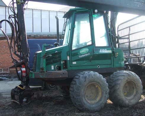 forwarder tractor Timberjack