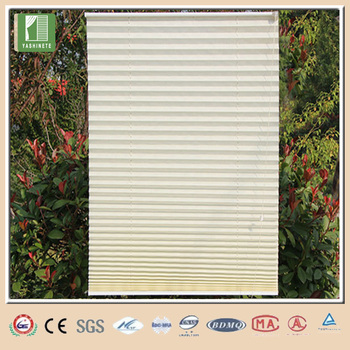 Non Woven Pleated Blinds Office Curtains And Blinds Polyester String Curtain  Vertical Blinds
