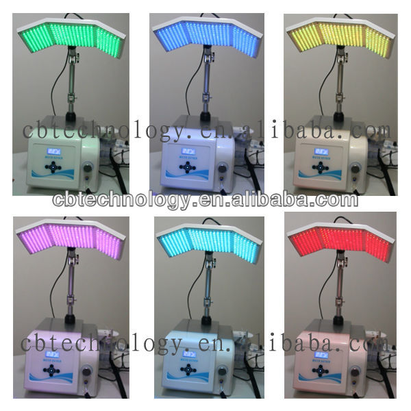 led skin treatment light mask / Green red blue yellow led light therapy /skin tightening mask
