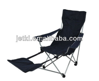 Foldable Reclining Beach Chair With Footrest