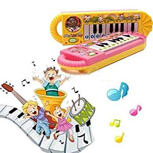 HuntGold 1X Baby Kids Infant Child Sweet Plastic Piano Musical Developmental Toy Electronic Organ(random color)