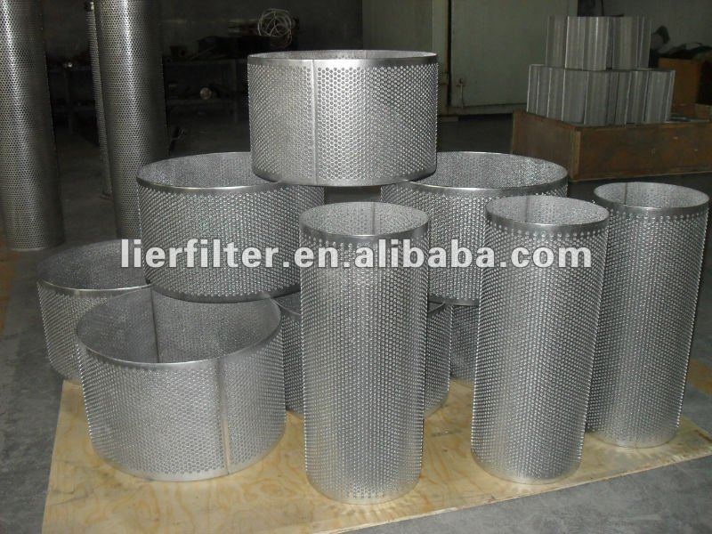 stainless steel sintered wire mesh with perforated nets(manufacture)
