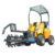articulated mini wheel loader