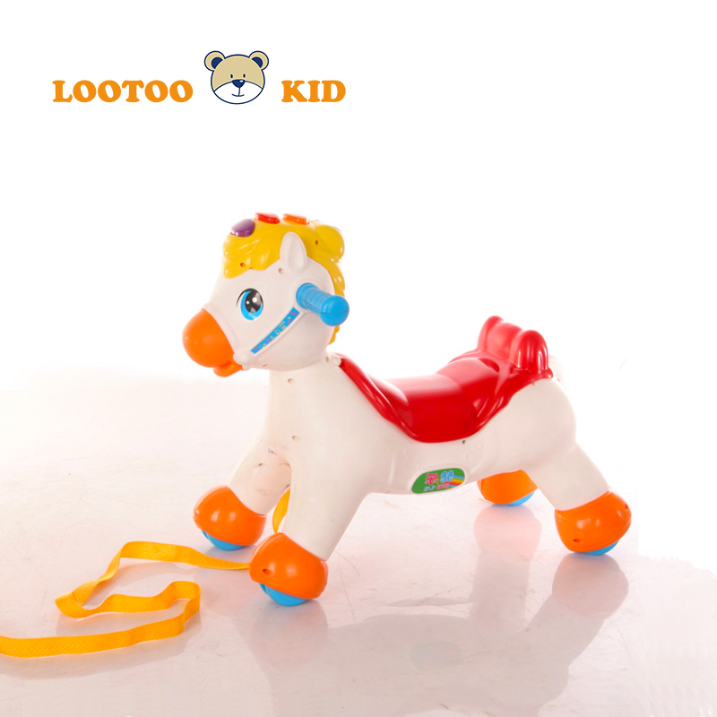 China supplier low cost kid riding horse toy rocking horse baby walker