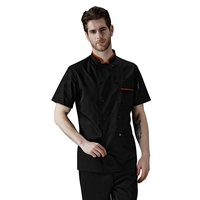 Professional high quality chef jackets restaurant cook uniform classical design chef coat