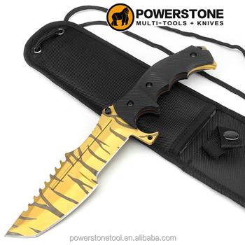 cs go huntsman knife tiger tooth huntsman hunting knife fixed blade knife buy tactical knives. Black Bedroom Furniture Sets. Home Design Ideas