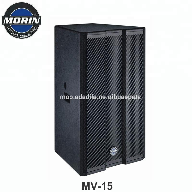 Pro Audio Speaker Professional 15 Inch RMS 300 w Powered Speakers For Conference Hall,Pub,Stage Fill Occasion Morin MV-15