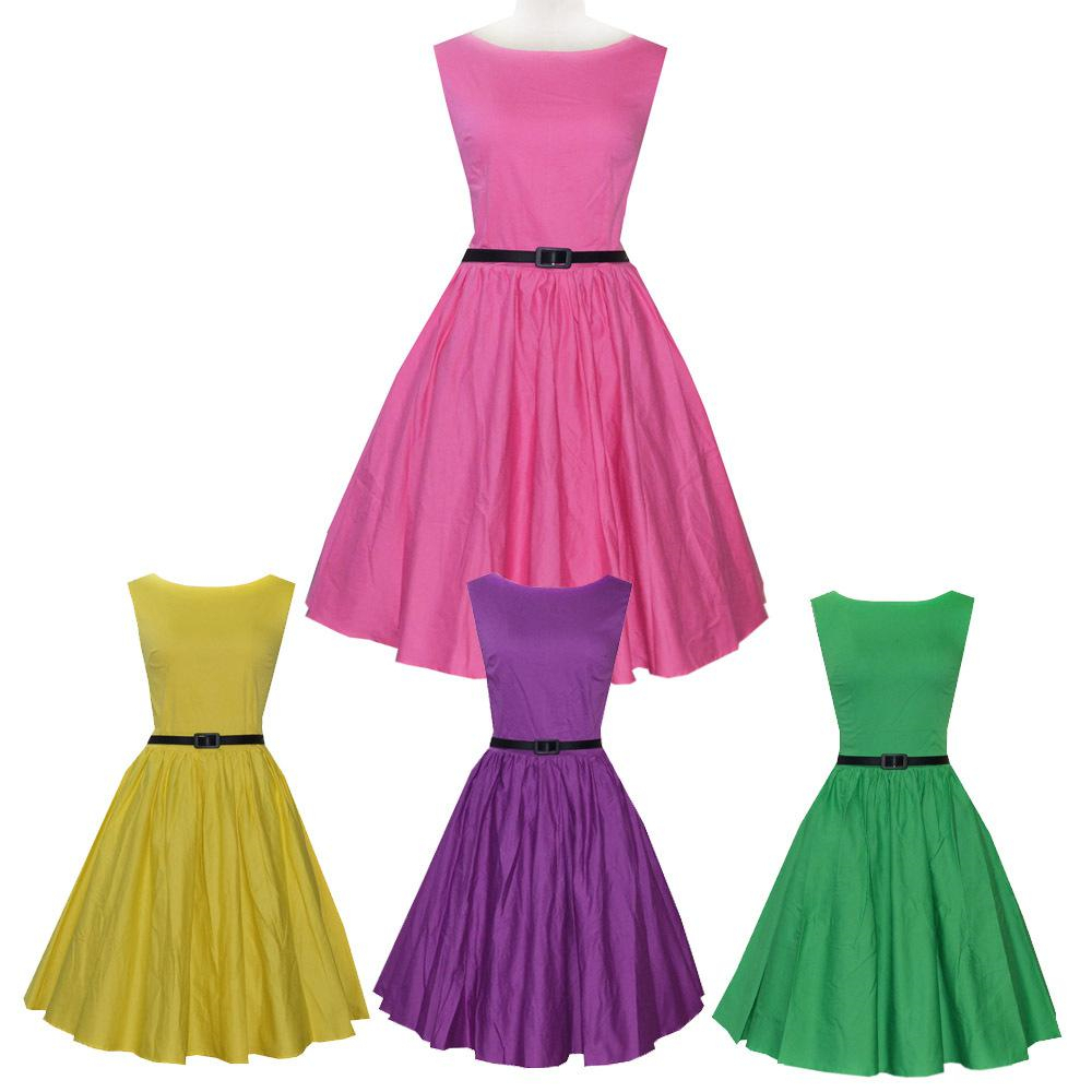 Aliexpress.com : Buy 50s retro dress Audrey Hepburn ...