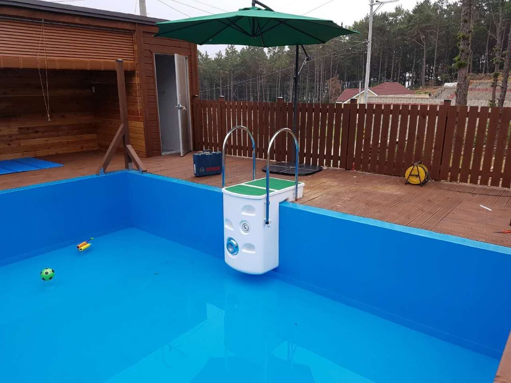 Wall hung pipeless filter with all in one set pool for Pool filter equipment