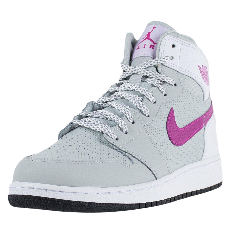 6cd33857e5a Get Quotations · Jordan AIR JORDAN 1 RETRO HIGH GG girls basketball-shoes  332148-018 (9.5