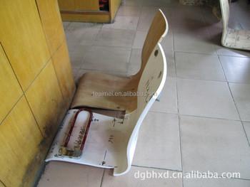 Incurvée panneau de contreplaqué chaise de bureau Électronique