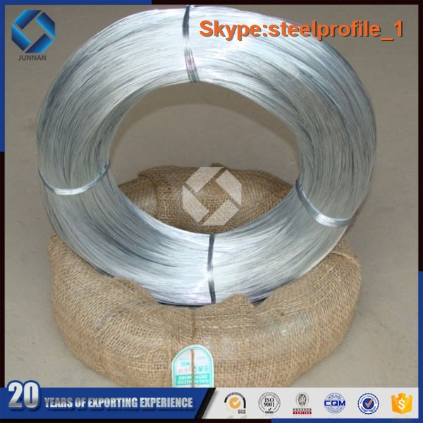 BWG 21 making office staples galvanized low carbon steel wire