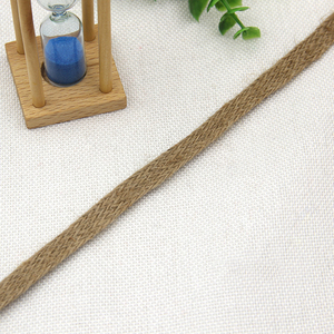 // best quality hemp braid trimming // bast fiber fabric ribbon for clothes //