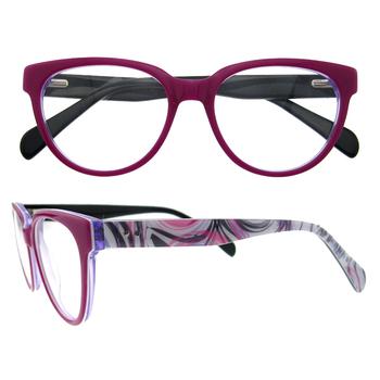 Latest Model Womenround Frame Magnetic Glass Frames - Buy Glass ...