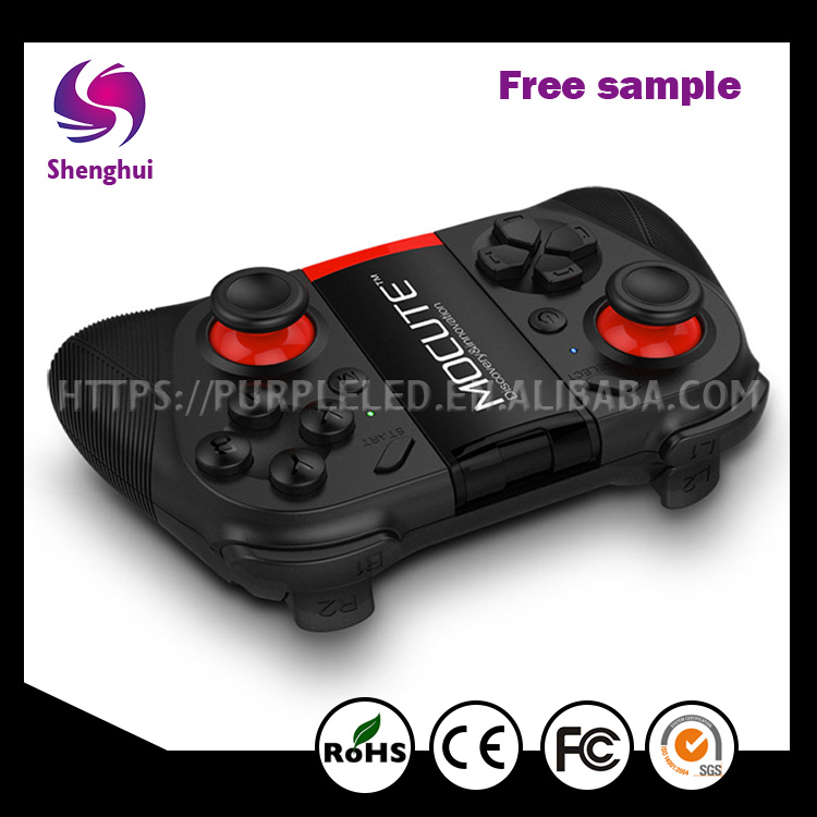 ShengHui Hot Selling Support Android / IOS/ PC Multi-function Bluetooth Game Handle
