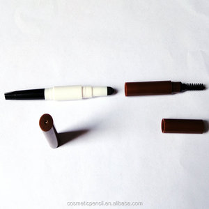 Multifunction 3 in 1 a eyebrow pencil aeyebrow powder and a brush ABS eyebrow pencil