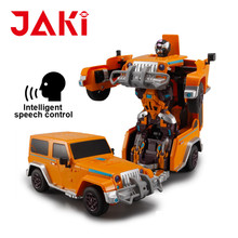 Luxurious remote control stunt robot car programmable, 4wd toy car robot programmable
