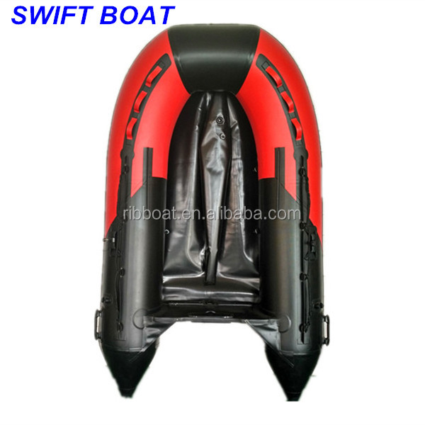 2018 new designed rubber dinghy military inflatable boat with seats paddle