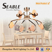 murano glass chandelier gold