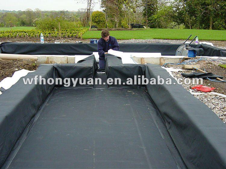 Epdm Rubber Pond Liner Waterproof Membrane 1 2mm Waterproofing Product On Alibaba