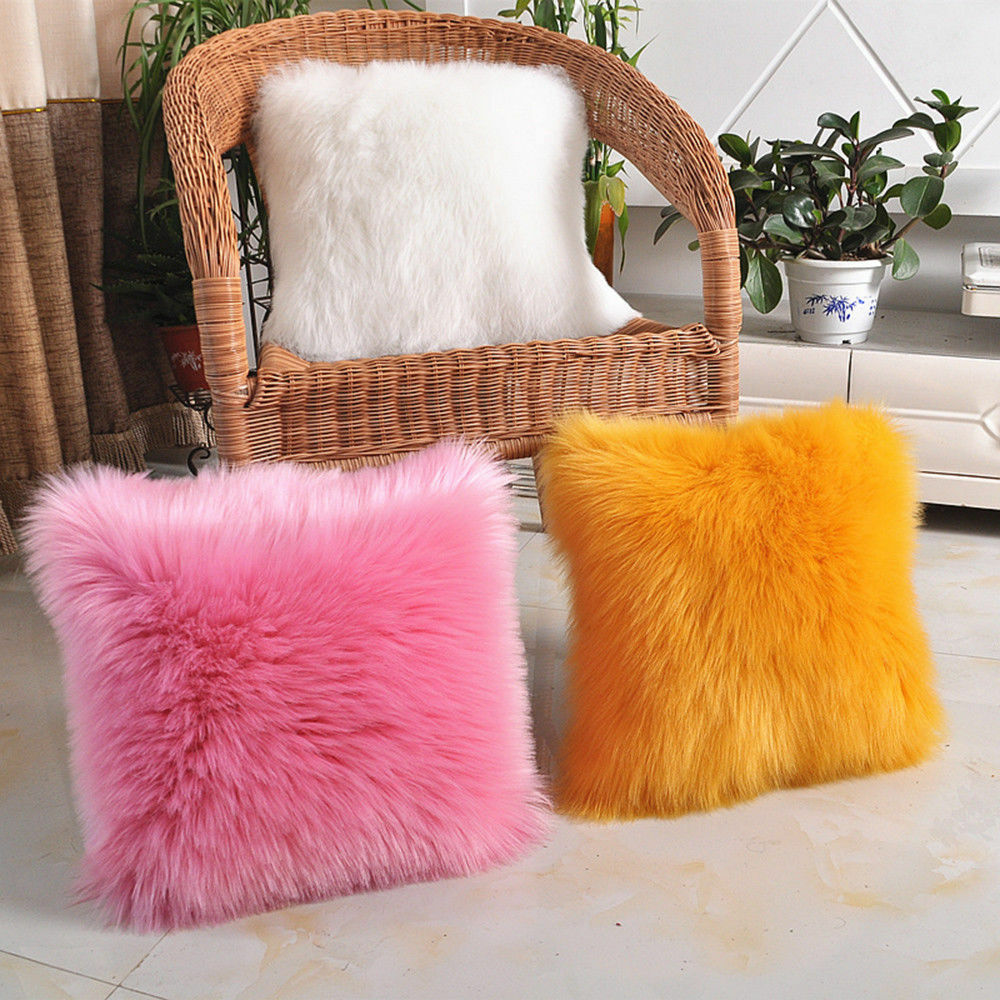 Top Quality plush Birthday Decorations cute beautiful 50 cushion covers