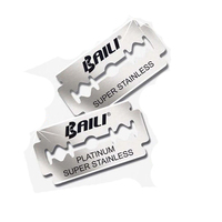 DURABLE SWISS QUALITY SUPER STAINLESS STEEL DOUBLE EDGE RAZOR BLADES