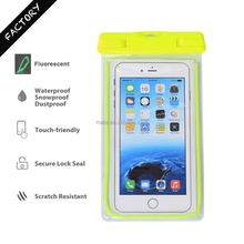 Free Sample Smartphone Waterproof case for all Smartphone with IPX8 Certificated (up to 6' inch)