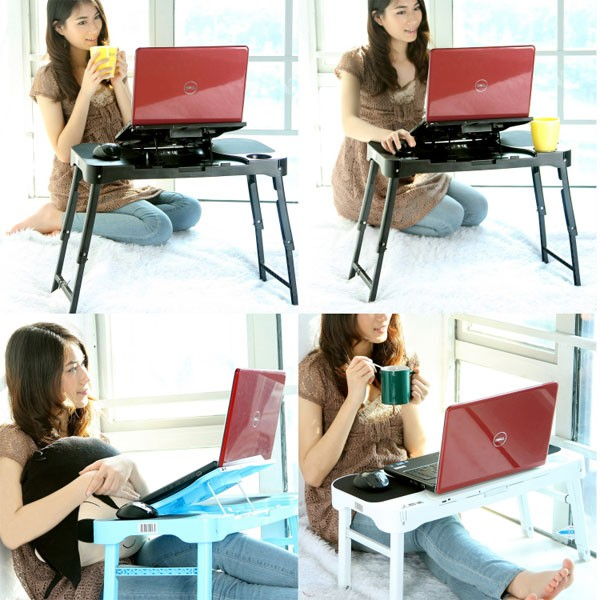 Adjustable laptop stand portable laptop desk laptop riser stand
