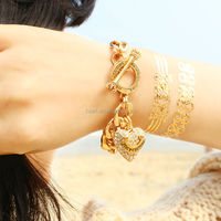 popular wholesale jewelry fashion 3d gold tattoo sticker