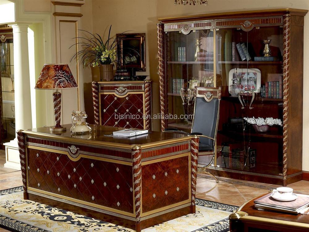 Luxus Schreibtisch,Luxus Büromöbel,Luxus Büro Ceo Tisch Möbel - Buy ...