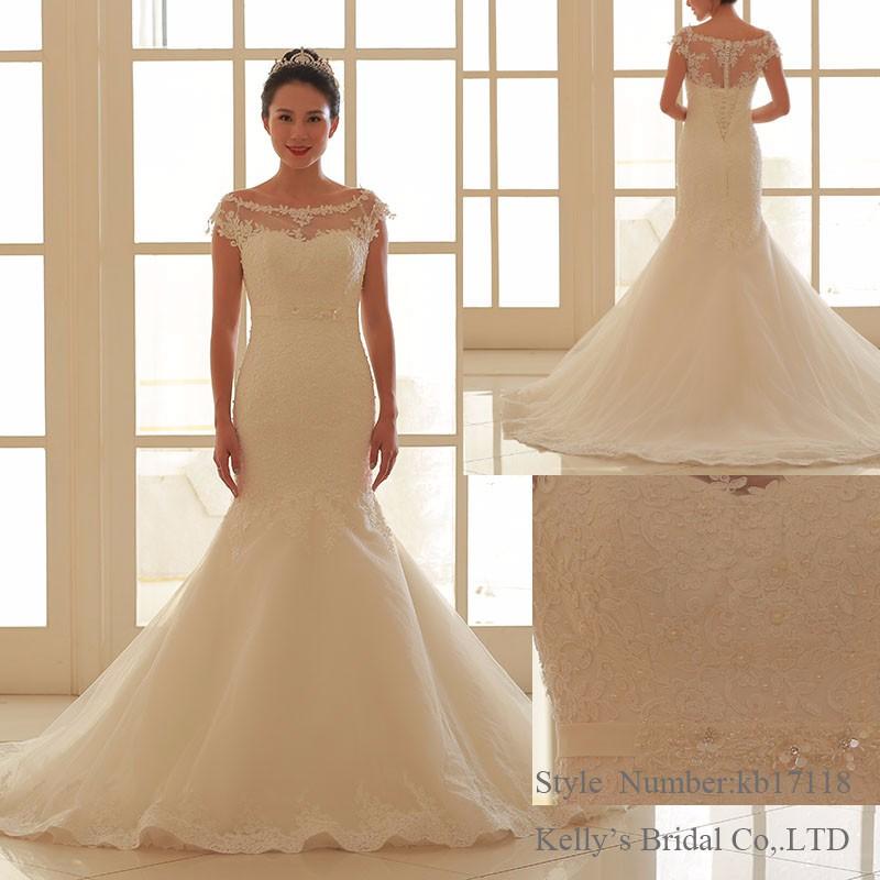 Latest Designs Mermaid Designs Ball Gown Bottom Wedding Dress Bridal ...