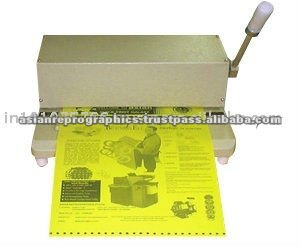 POLYESTER MASTER PLATE PUNCH