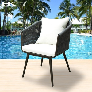 Hotel Garden Furniture Weaving rope chair