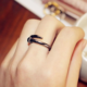 New Trendy Nail Ring Jewelry Silver/Rose Gold Ring China Factory Price Unisex