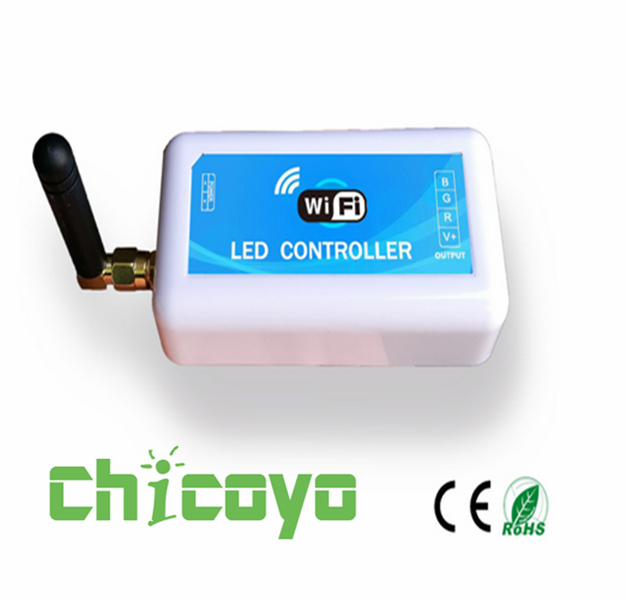3*6A WiFi RGB LED Controller with ISO Android System led Color Temperature Controller