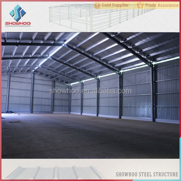 Steel Building Kits And Metal Buildings By Steel Building: Galvanized Steel Frame Greenhouse Prefabricated Steel