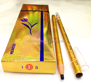 private label golden paper roll cosmetic eyebrow pencil permanent best eyebrow pencil brands