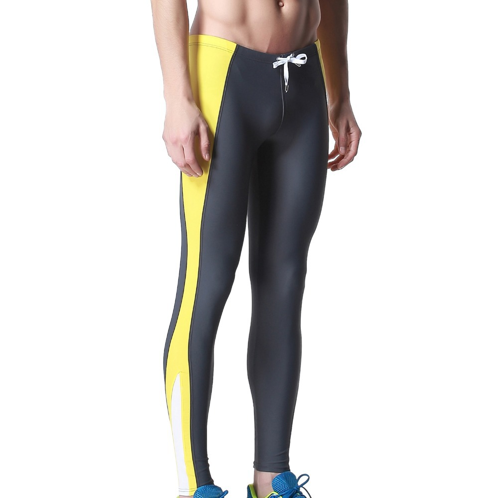 69ada84cf7c86 DESMIIT Men s Triathlon Tights Fitness Pants Long Sexy Men Exercise Pants  Gym Running Biking Pants