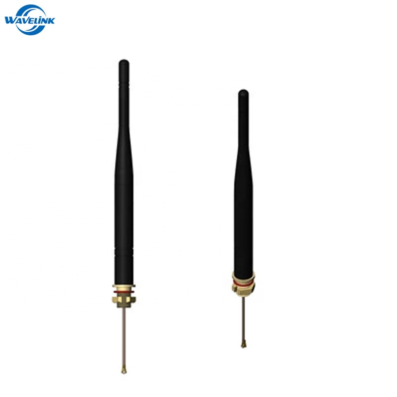 IP67 Waterproof Dual Band 2.4 5GHz WIFI Antenna With 1.13 Jumper Cable 120MM