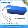Factory directly supply li 4s4p 18650 rechargeable li ion charging rc battery pack